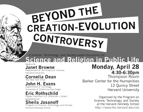 Beyond the Creation-Evolution Controversy poster