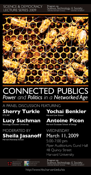 Connected Publics event poster