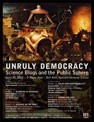 Unruly Democracy poster
