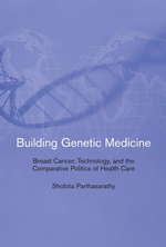 """Building Genetic Medicine"" cover"