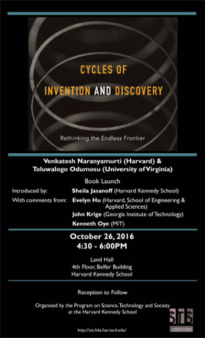 Cycles of Invention and Discovery event poster