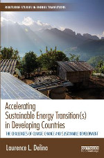 """Accelerating Sustainable Energy Transition(s) in Developing Countries"" cover"