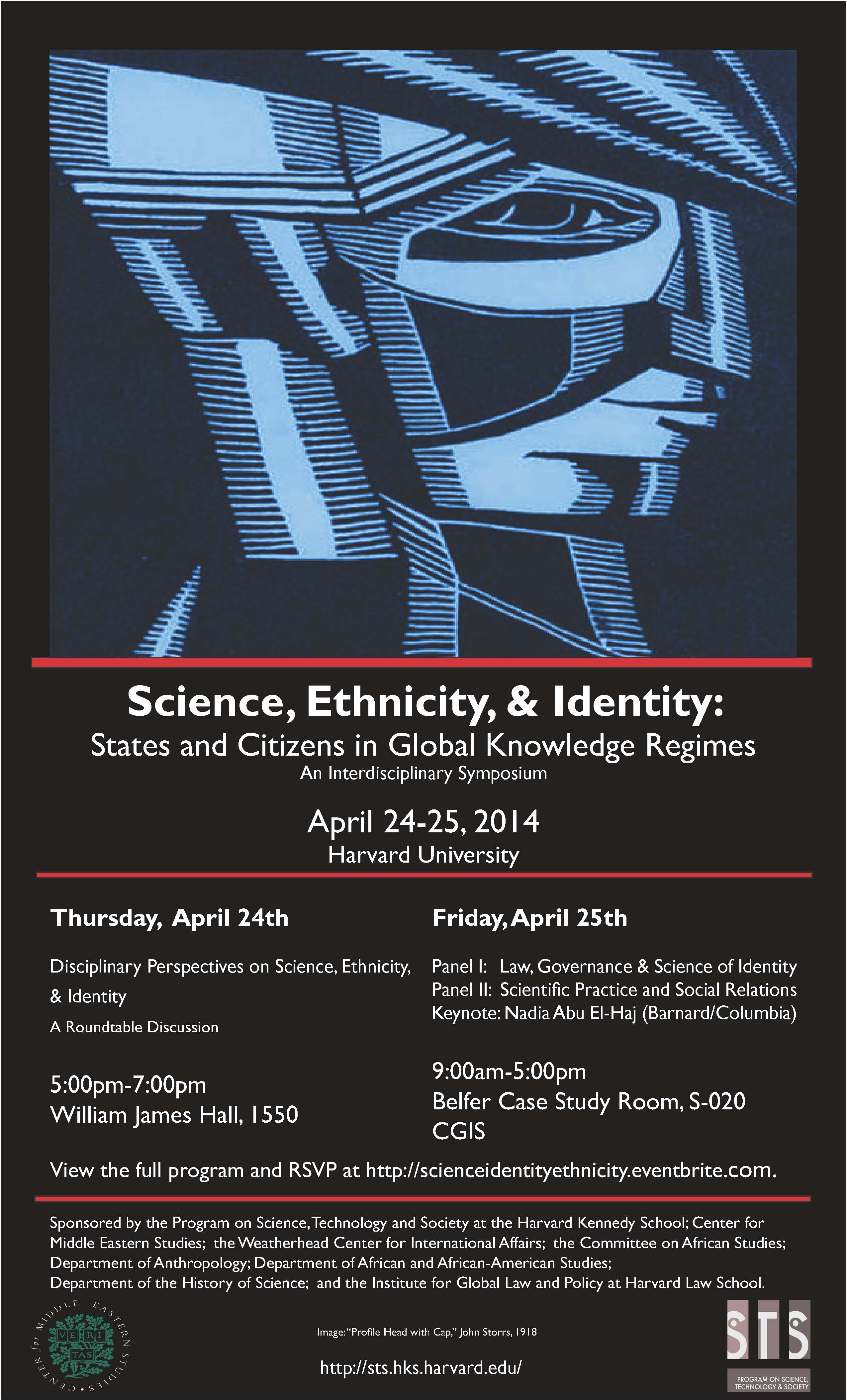 Science, Ethnicity, and Identity event poster