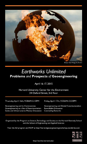 Earthworks Unlimited event poster
