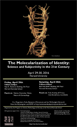 The Molecularization of Identity poster
