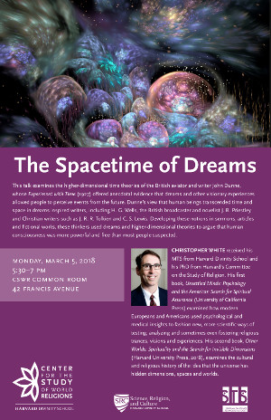 The Spacetime of Dreams event poster