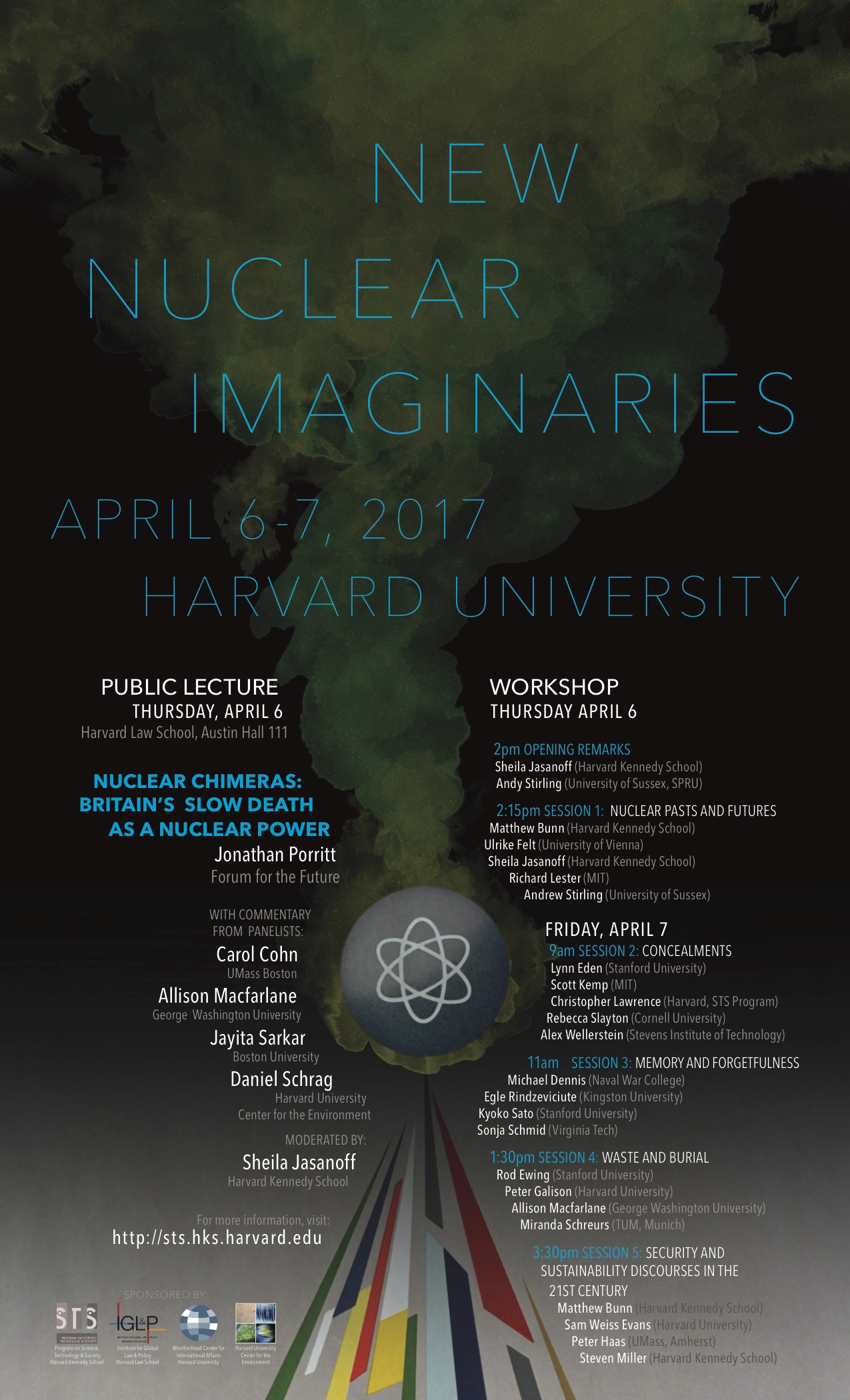 New Nuclear Imaginaries event poster