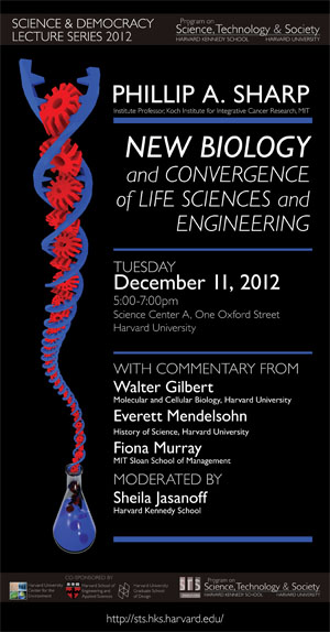 Phillip Sharp event poster