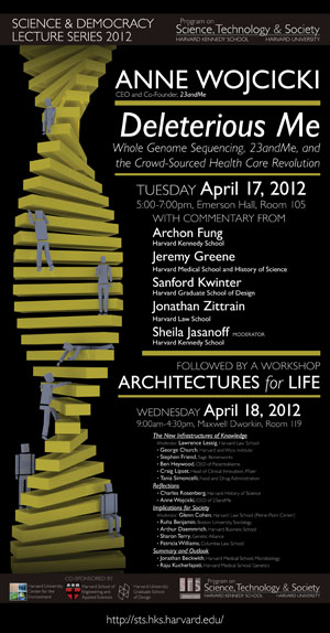 Architectures for Life event poster